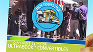 Tech Chef: Different Ultrabook™ Convertibles Types