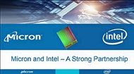 Webinar: Intel, Micron Discuss 3D NAND Technology